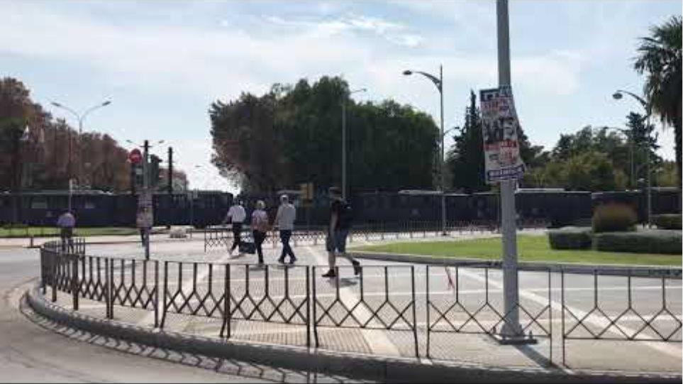 Κλείνουν οι δρόμοι στο κέντρο της Θεσσαλονίκης