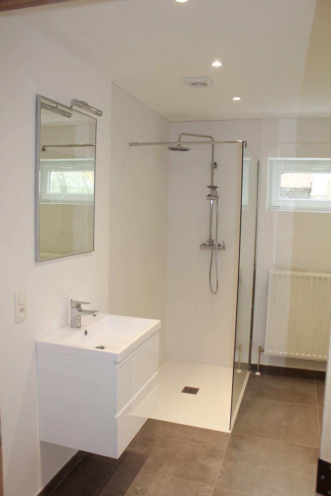 salle de bain rénovée - colocation