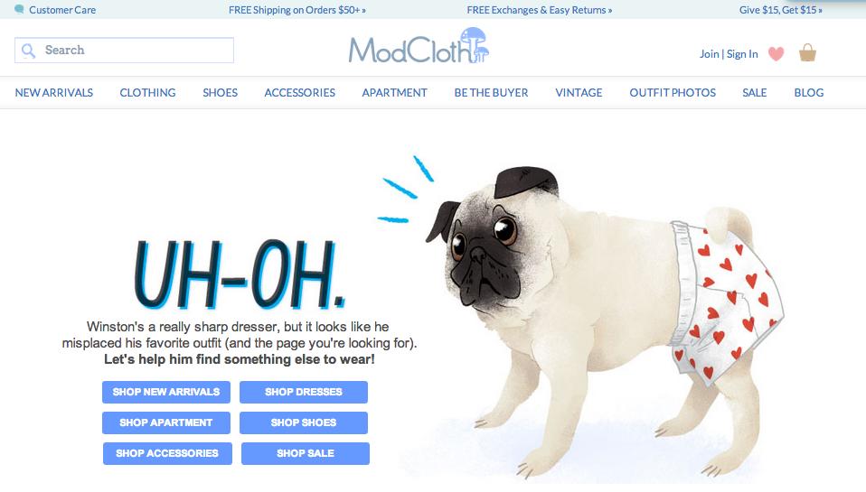 modcloth-custom-404-page