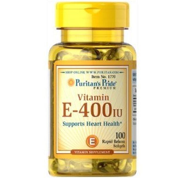 3. Puritan's Pride Vitamin E-400 IU