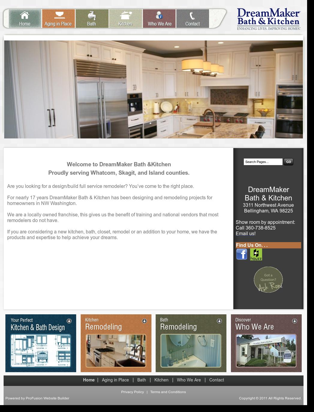 dreammaker construction website