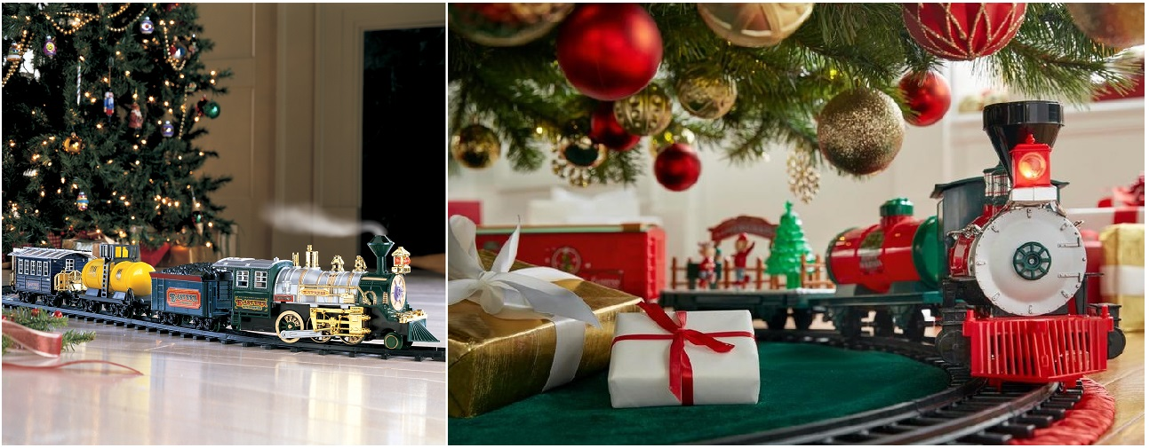tendencias decorativas Navidad 2019/2020 tren