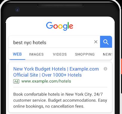 關鍵字廣告/搜尋廣告 (Search Ads)