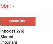 Nightmare Gmail Inbox