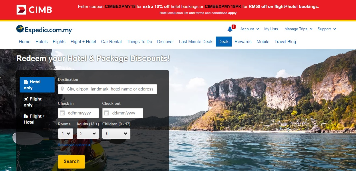 Expedia Promo Code Malaysia, LATEST voucher code 2019 | Cardable