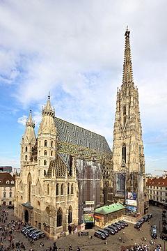 Resultado de imagen de la catedral de saint etienne viena