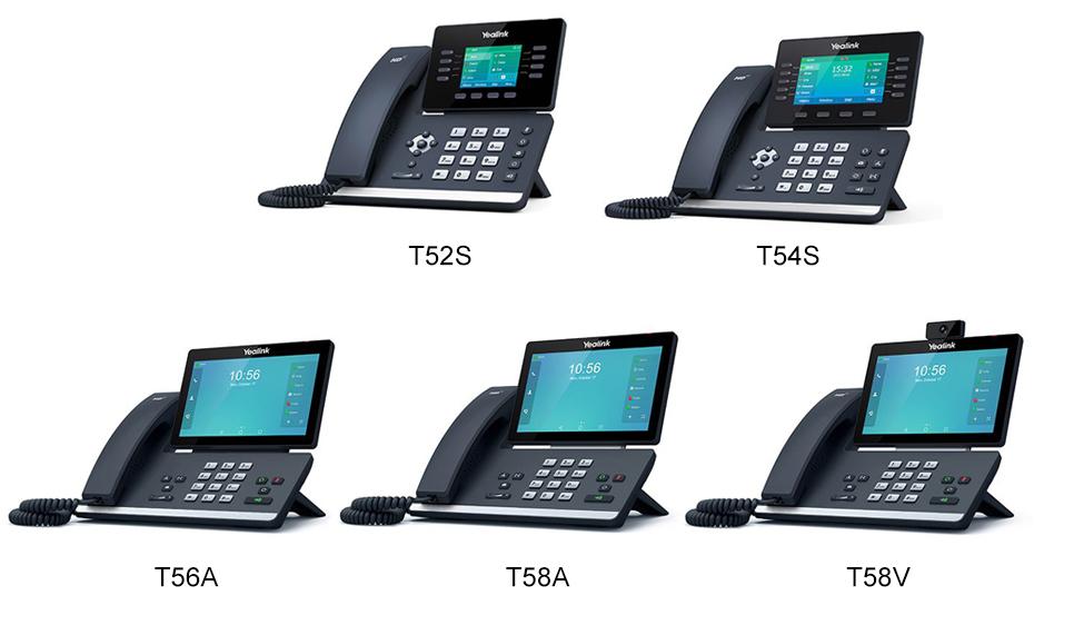 Настройка IP телефонов Yealink T5 Series для работы с 3CX