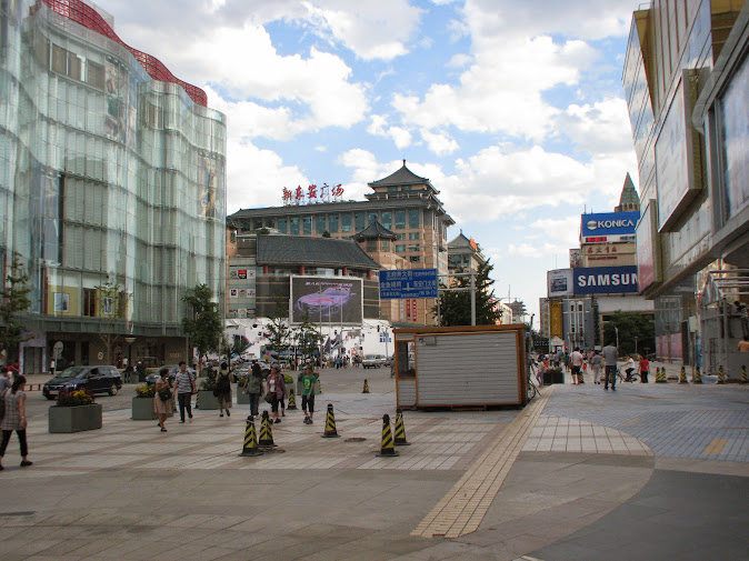 The sprawling metropolitan of Beijing holds more than 11.51 million people (Wangfujing Street, 2012)