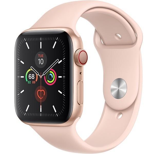 Apple Watch 5 40mm (4G) Viền Nhôm Vàng - Dây Hồng Chính hãng (MWX22/MWWP2)