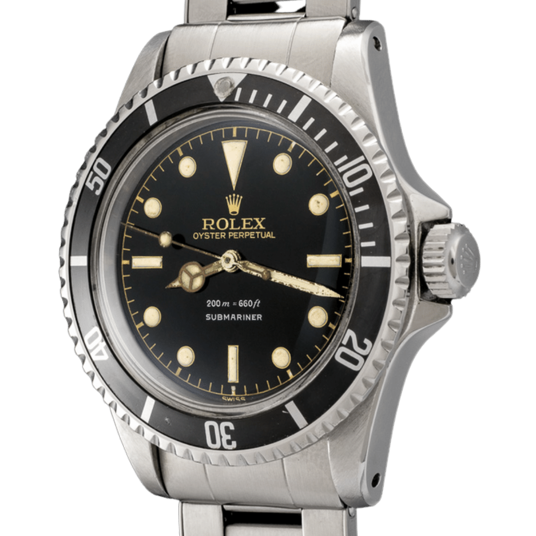 Photo of Rolex Submariner Ref. 5512 with Pointed Crown Guards