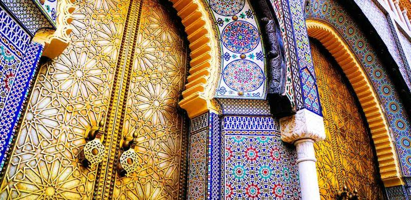 Mesquita Hassan II, maior mesquita de Marrocos.
