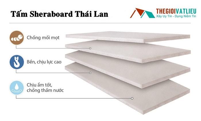 Tấm Shera board Thái Lan