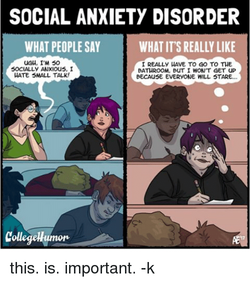 Social anxiety meme (A list)
