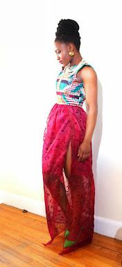 ankara dresses, skirts