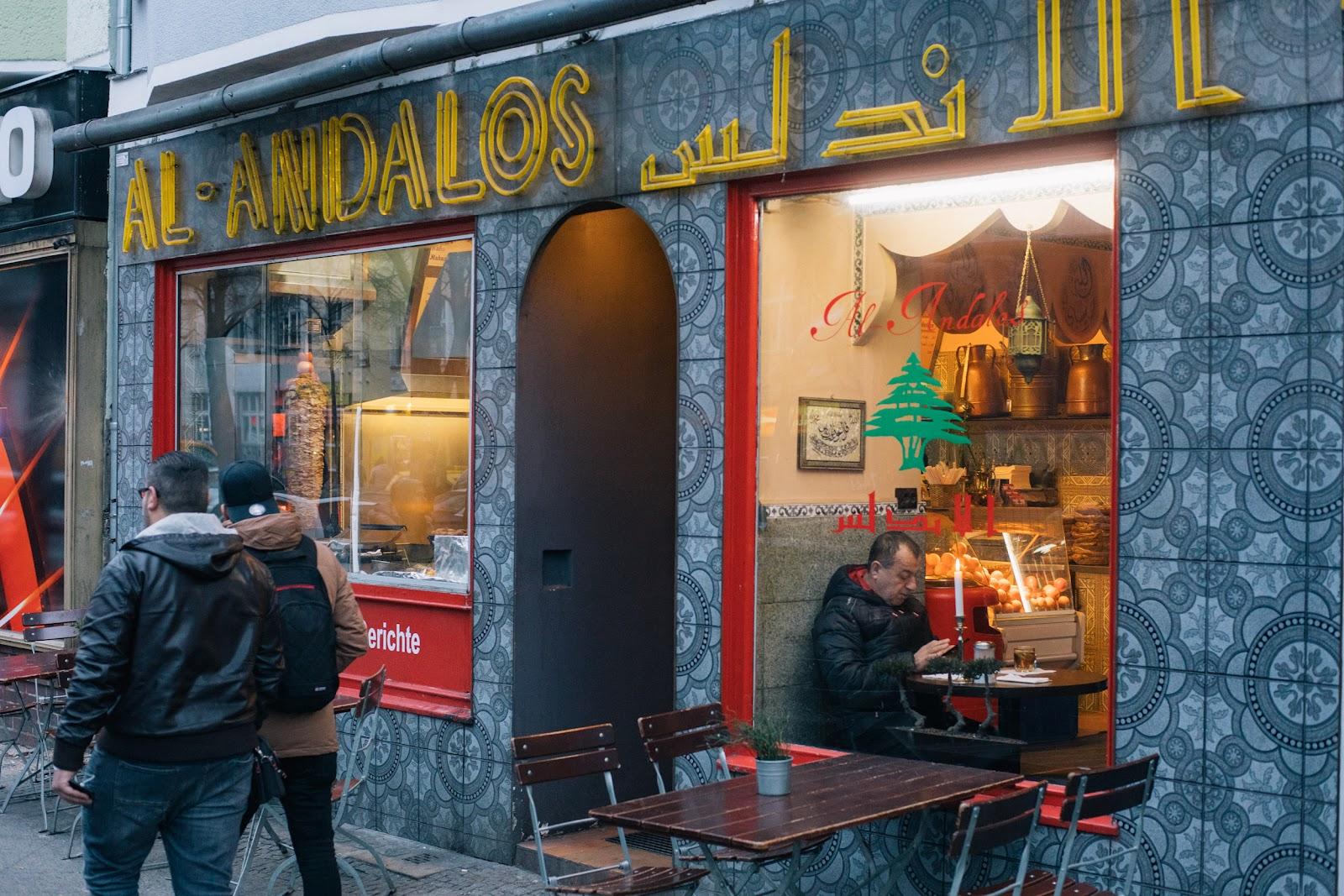 Ein arabisches Restaurant auf der Sonnenallee