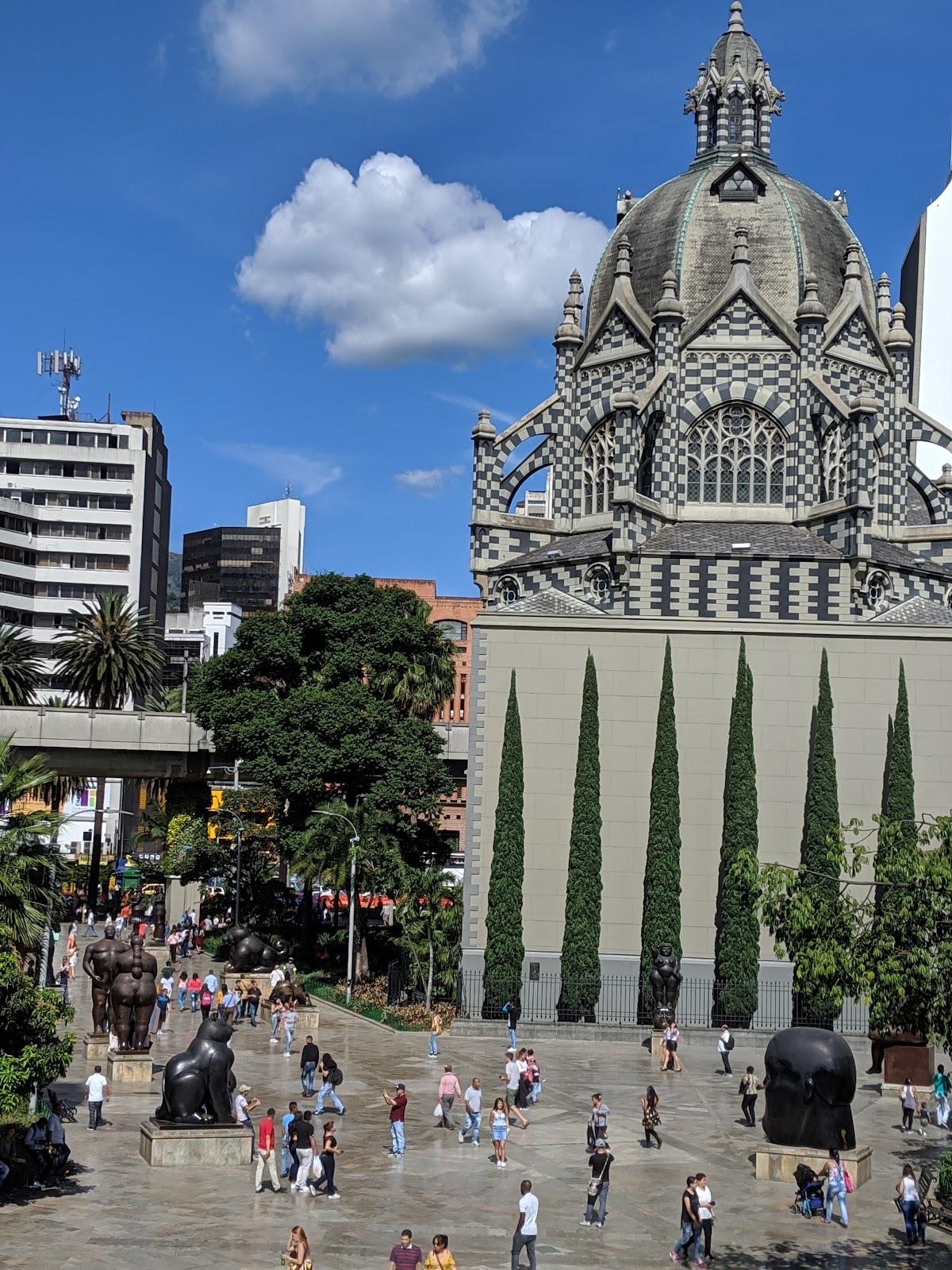 Plaza Botero in Medellin, Colombia.