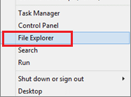 Open Windows File Explorer