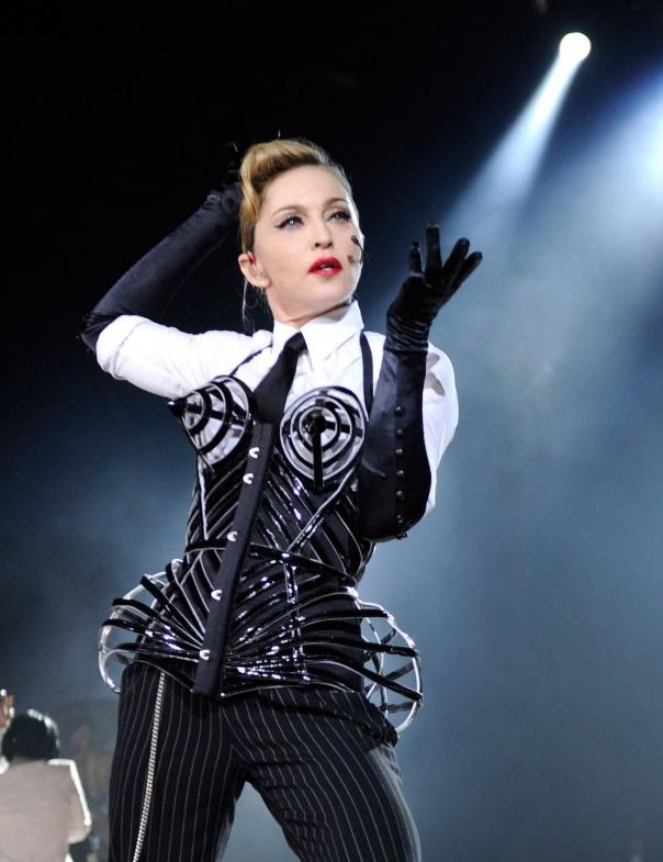 Madonna's wildest tour costumes through the years