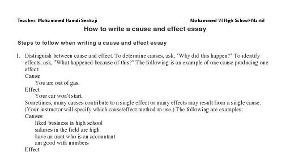 cause and effect essay on credit cards