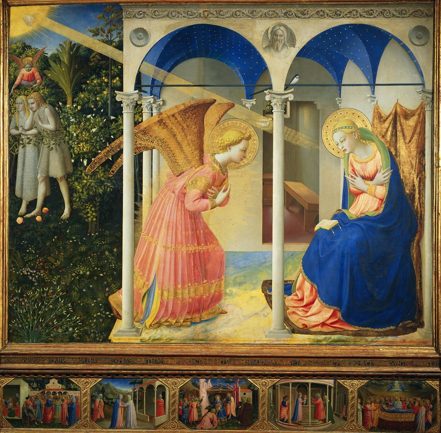 The Annunciation-Fra Angelico, 1438-45.jpeg