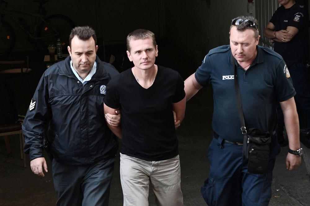 Alexander Vinnick arrested