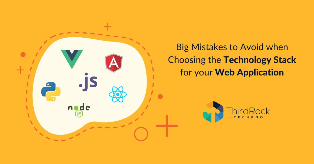 Technology stack for web application development