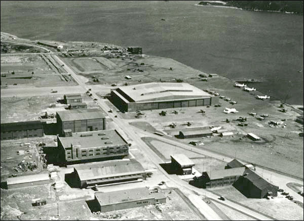 U.S. Naval base in Argentia on the island of Newfoundland, Canada