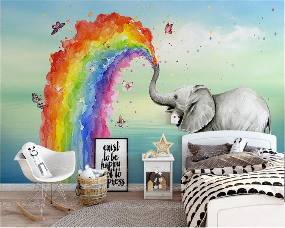 Paint a Rainbow in Your Boy's Room Ideas