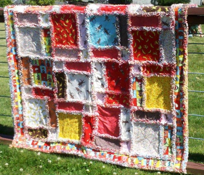 Craftsy Member Pattern - Twisted Rag Quilt