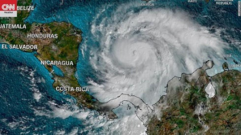 Hurricane Iota made landfall in Nicaragua in Central America on Monday night  and has developed into a category five storm.