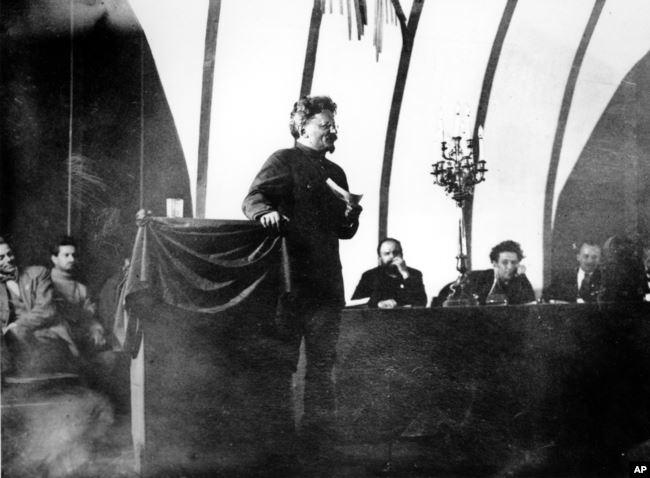 Лев Троцкий, 1921 год