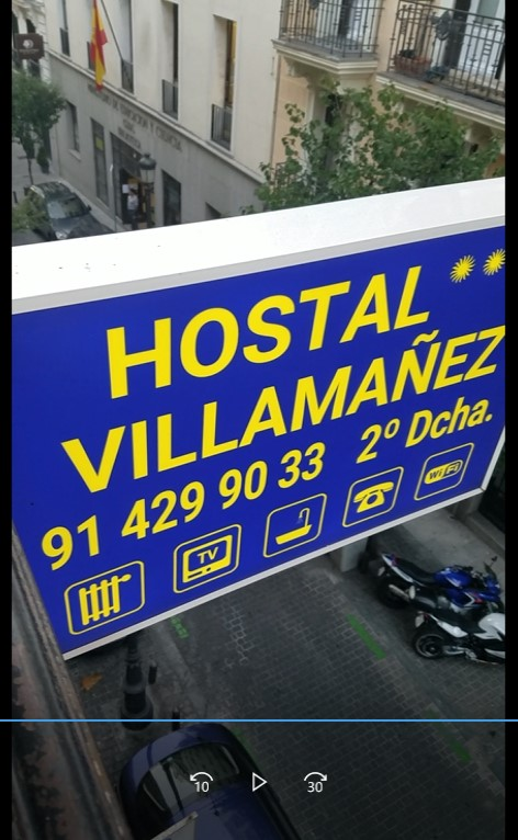 Hostal villamanez in madrid