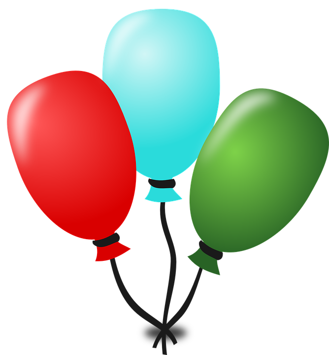 Free vector graphic: Balloons, Birthday, Party, Event - Free Image ...