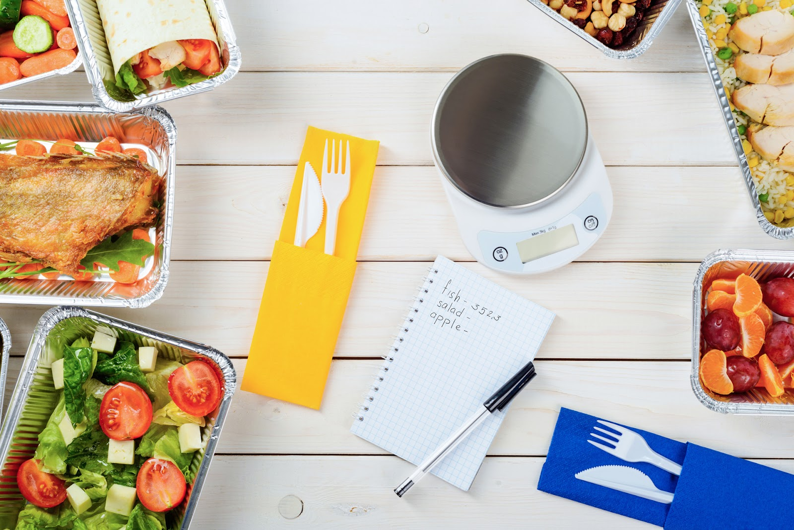 Food and tools for calorie counting