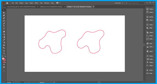 Illustrator smoothen a path