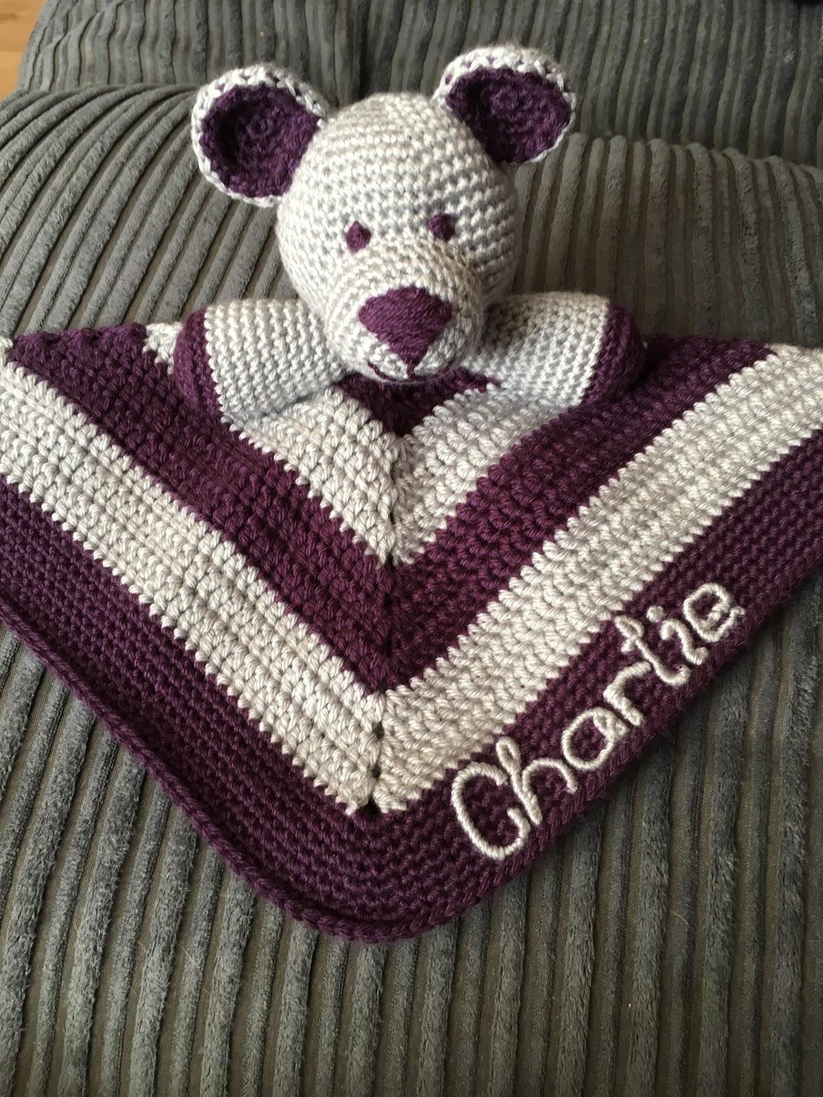 Diddy the Teddy Blanket - Free Crochet Pattern