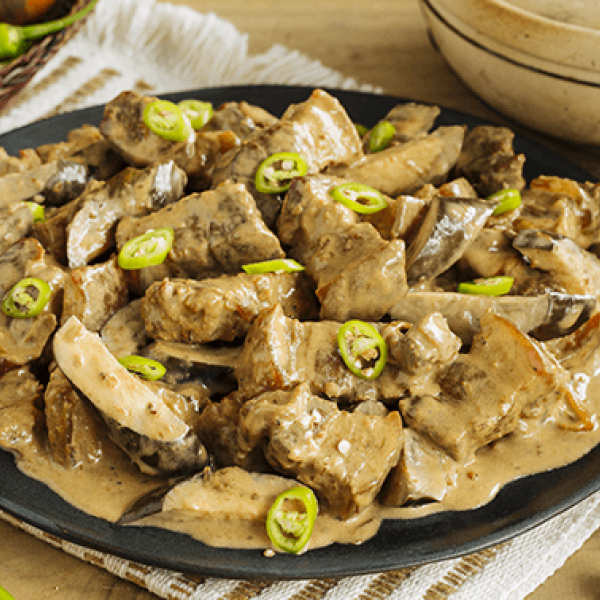 impress your tita with this recipe filipino pork in creamy bagoong sauce