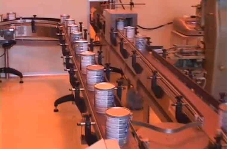 Dây Chuyền Sản Xuất Sữa Bột Hiện Đại - Chất Lượng