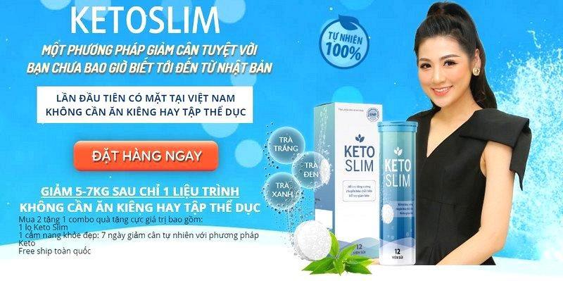 Viên sủi giảm cân Keto Slim mua ở đâu hợp lý?