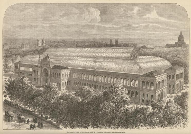 Salon de 1857 paris salon exhibitions 1667 1880 - Salon de l industrie paris ...