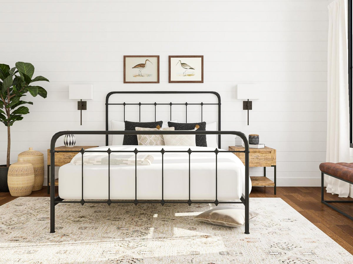 DIY Metal Traditional Bed Frame Ideas