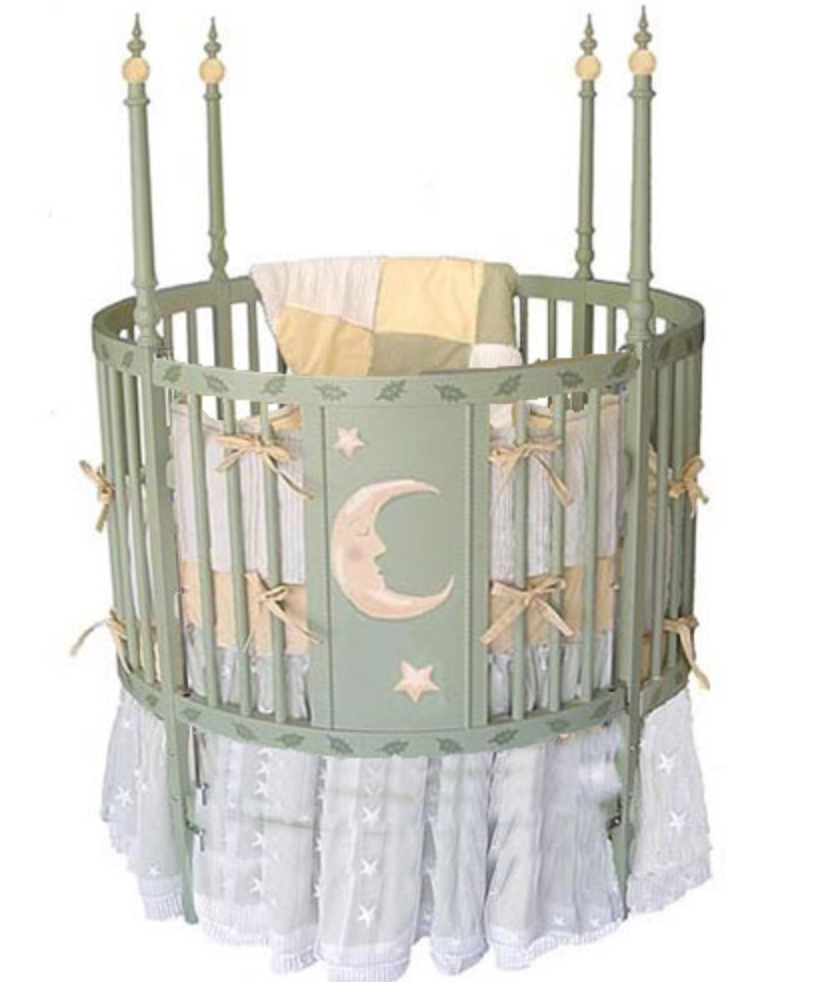 Oval Cribs - ABaby.com