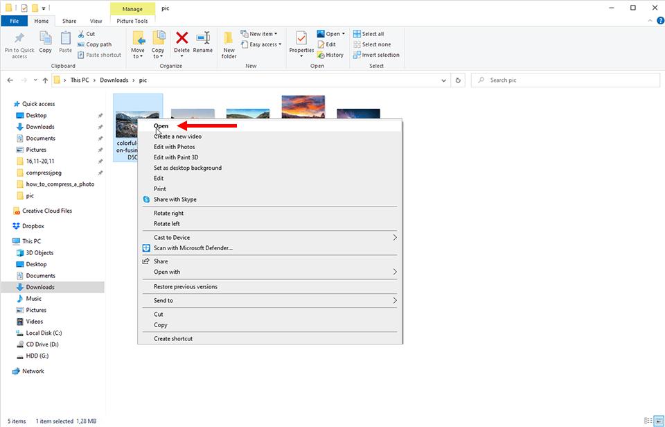 C:\Users\User\Desktop\how to compress a photo\windows os\Screenshot_1.png