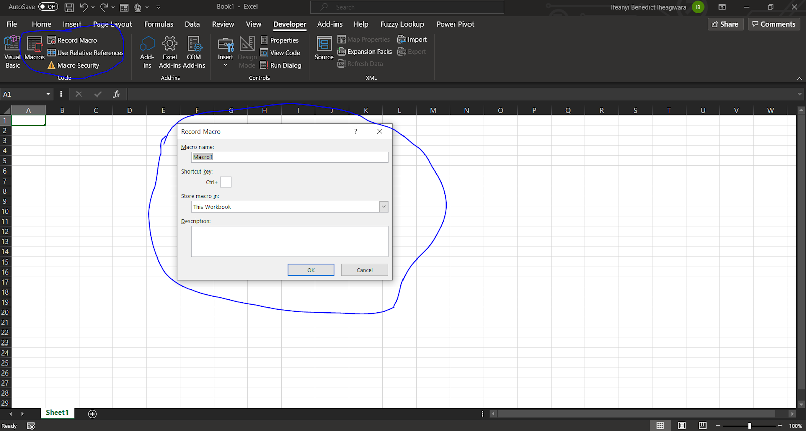 How to Record Macros in Excel