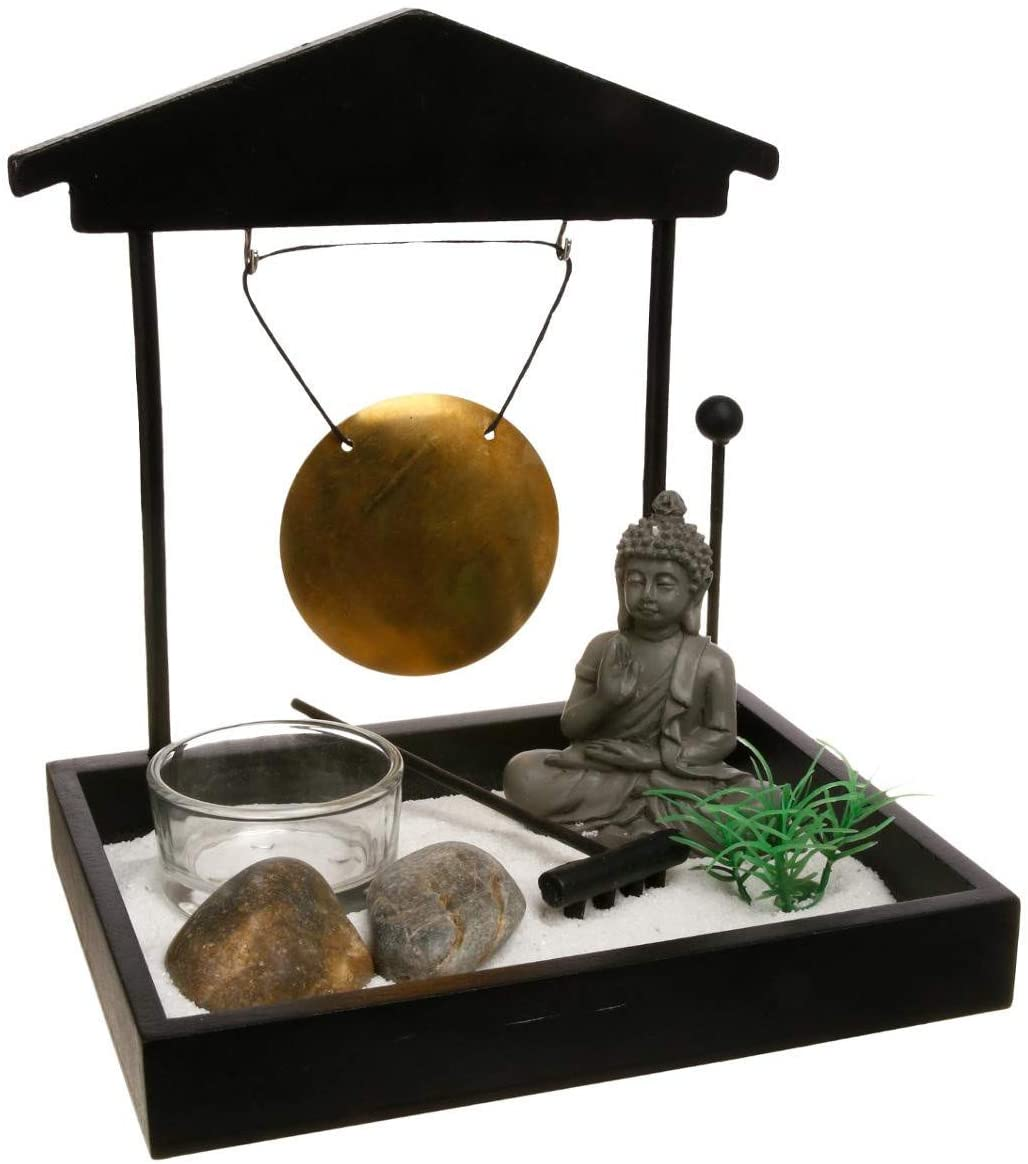 jardin zen budista