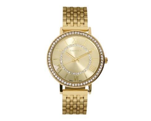 Reloj Thinner 5883 Dorado para regalar a mujer