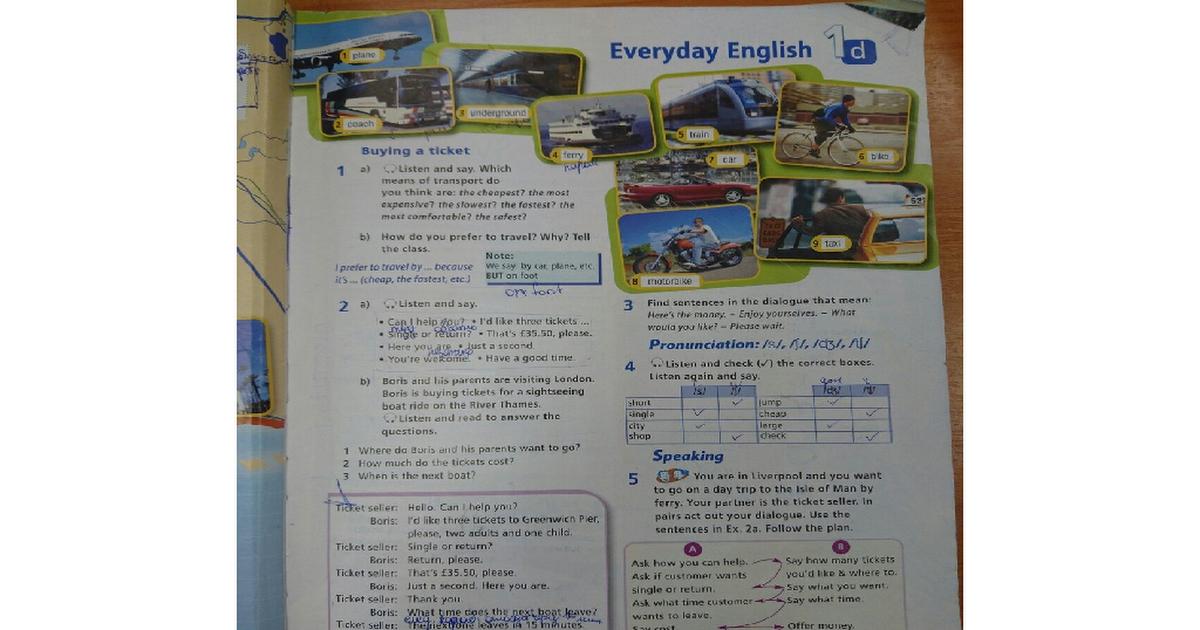 Класс баранова английский ксения 5 язык решебник