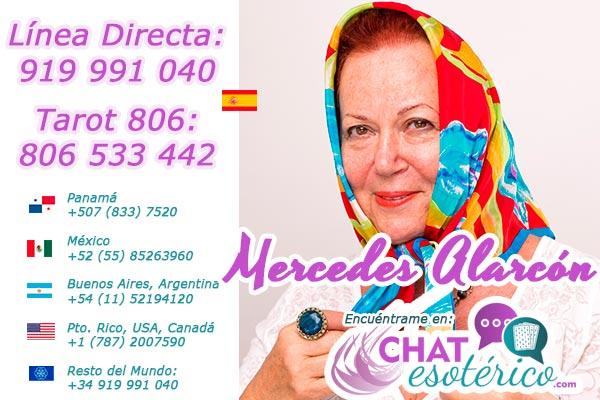 Tarot Verdadero sin mentiras – Mercedes tarot vidente Mercedes Alarcón tarotista
