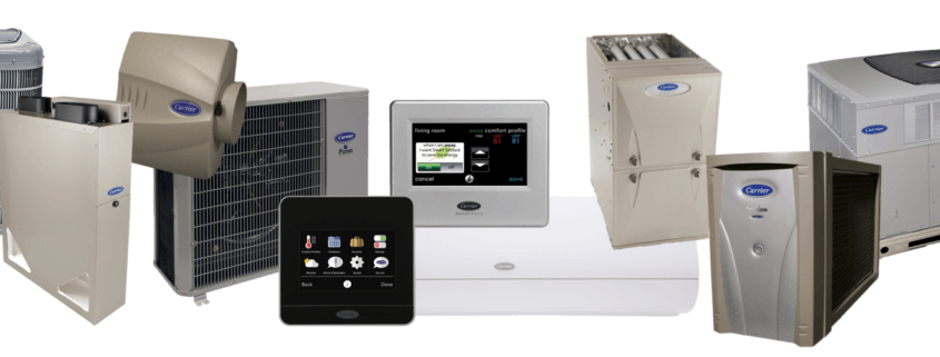 Different types of HVAC units
