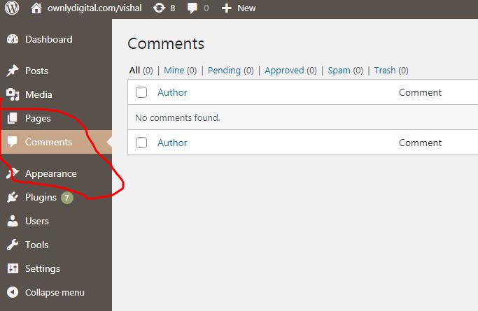 Comment In WordPress, Component In WordPress